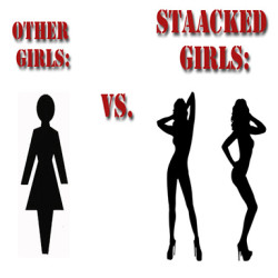 other girls vs staacked girls2